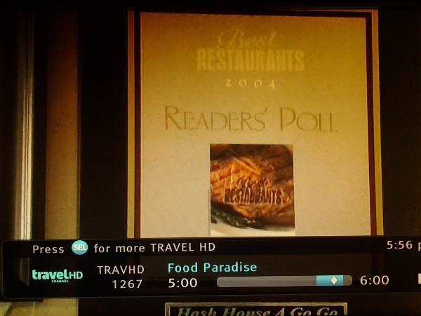 "Our client-Hash House a Go Go featured on Travel Channel's ""Food Paradise"""