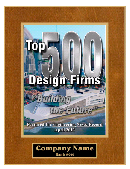 2013 Top 500 Plaque
