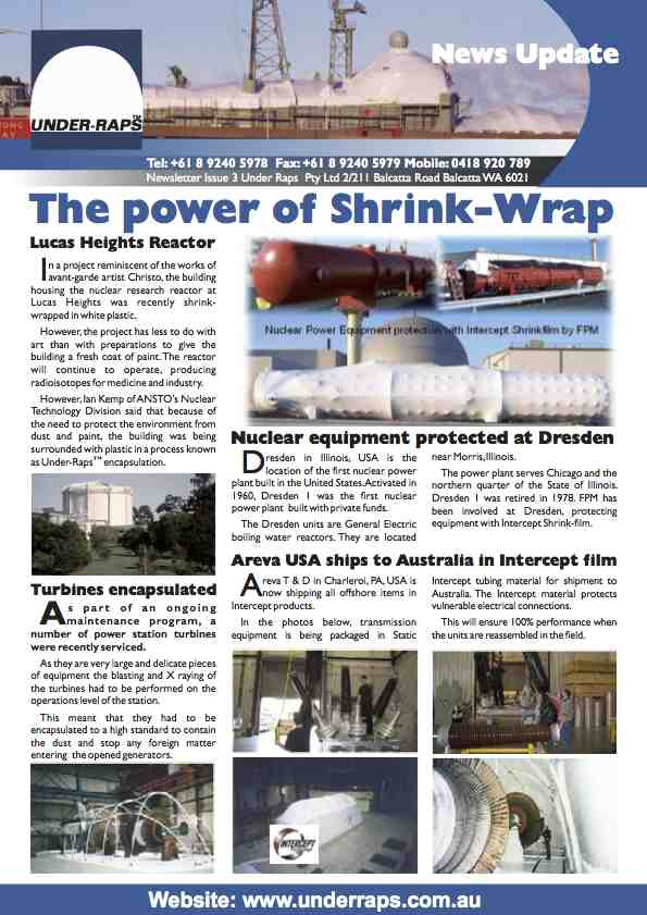 Intercept Australia Newsletter Number 3