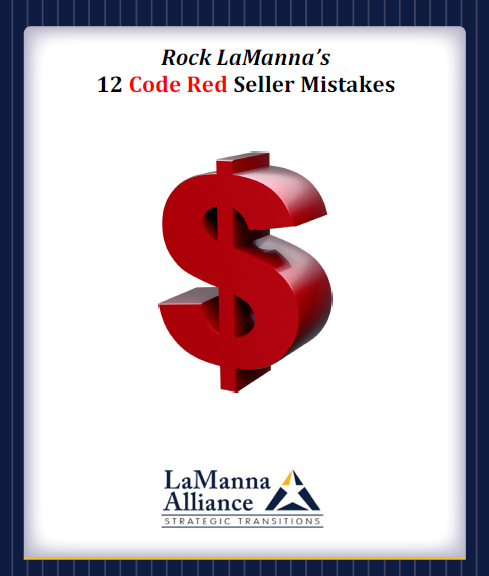Rock LaManna's 12 Code Red Seller Mistakes