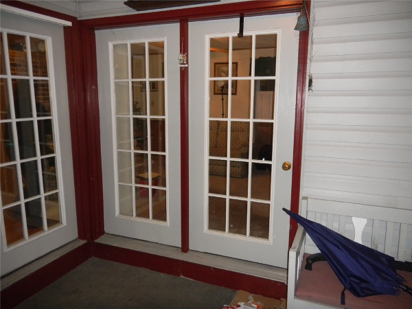 Photos of replacement windows in chester county pa for French style storm doors