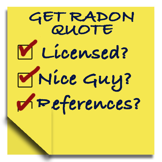 Good Radon Contractor