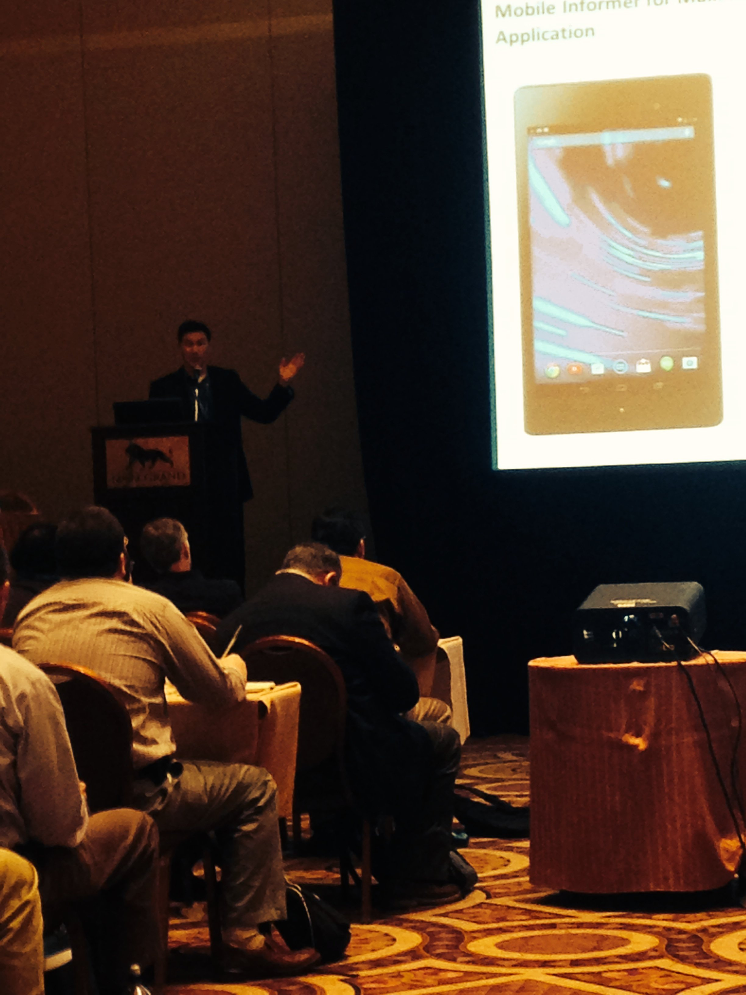 Fully Packed Mobile Maximo Session