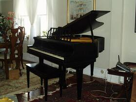 Baby grand piano atlanta stores for Baby grand piano height