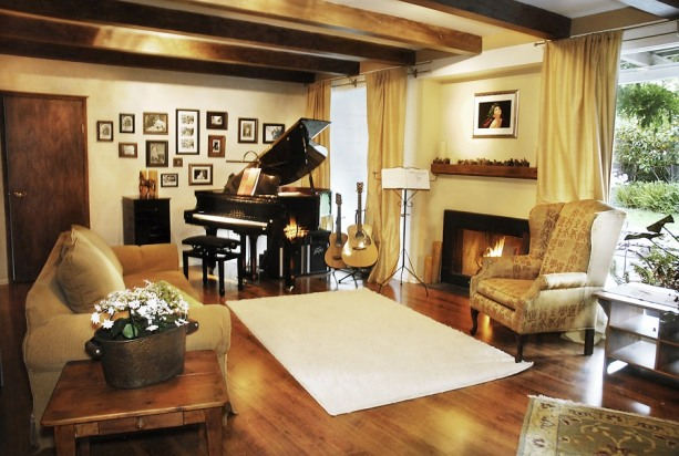 baby grand piano placement in the home cooper piano