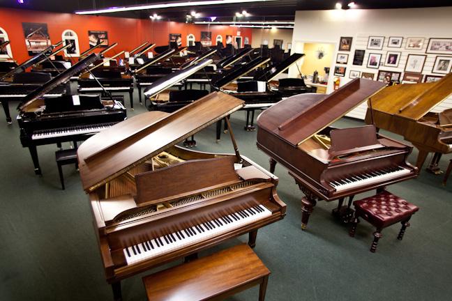 piano showroom