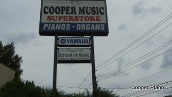 Piano stores