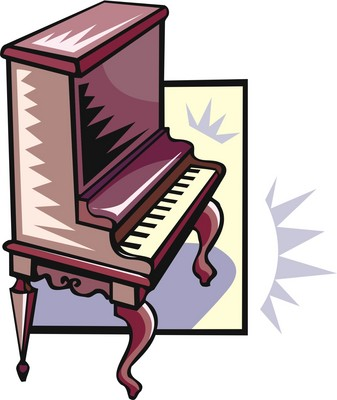 Vertical piano