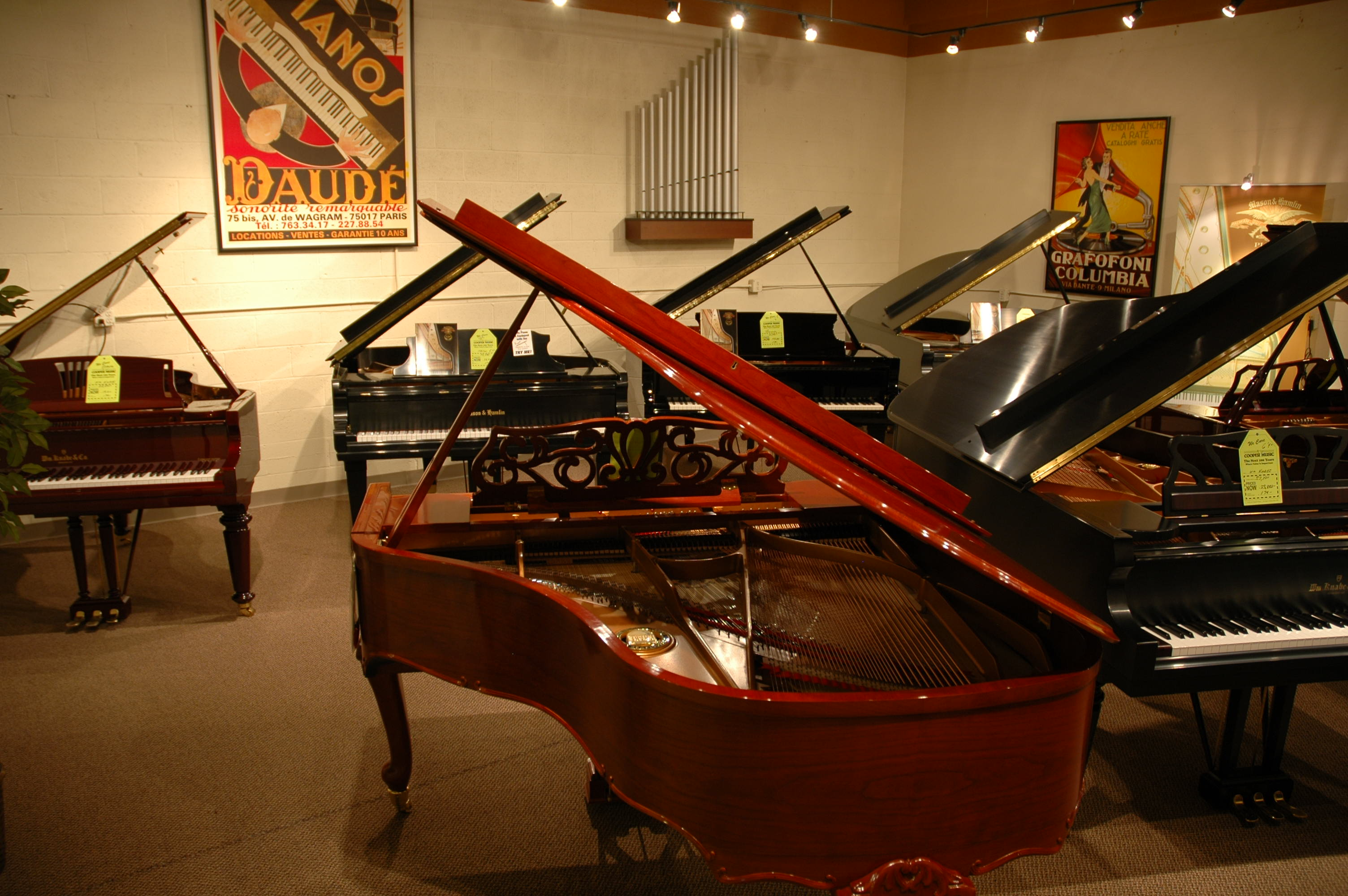 Piano player the cooper piano blog best piano store in for Yamaha digital piano dealers