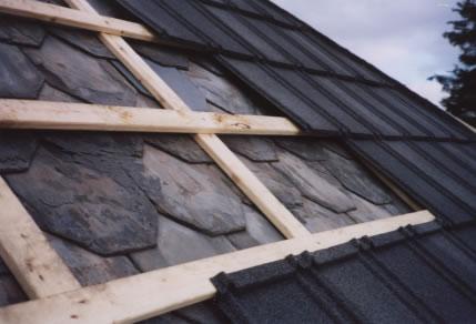 Metal Roof Installation Over Fiber Cement Roof It Depends