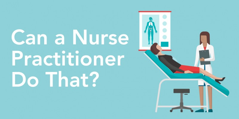 can a nurse practitioner do that   infographic