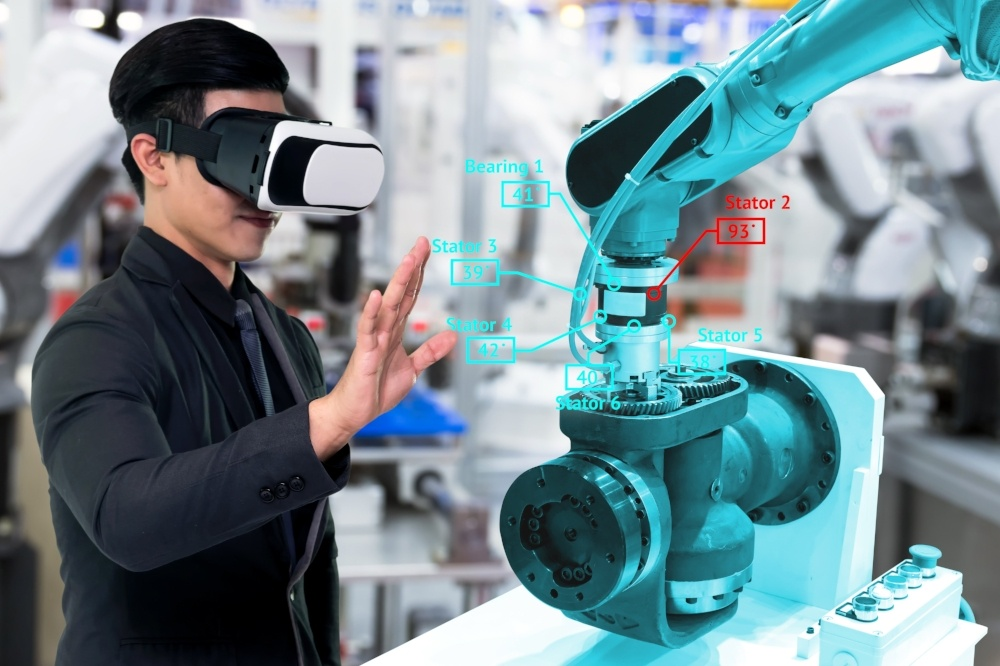 How Virtual Reality Is Changing The Manufacturing Game