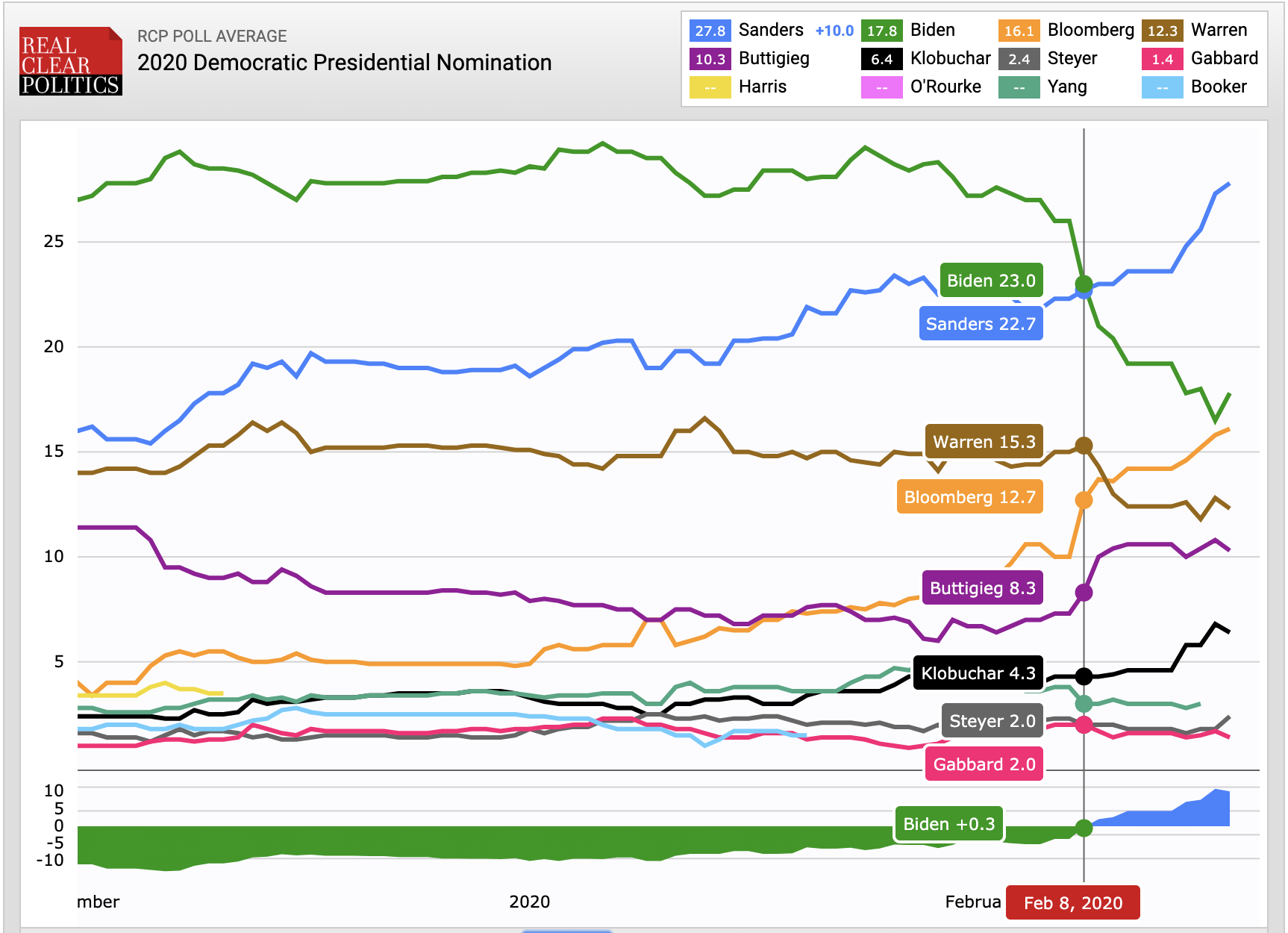 2020 Democratic Presidential Polling
