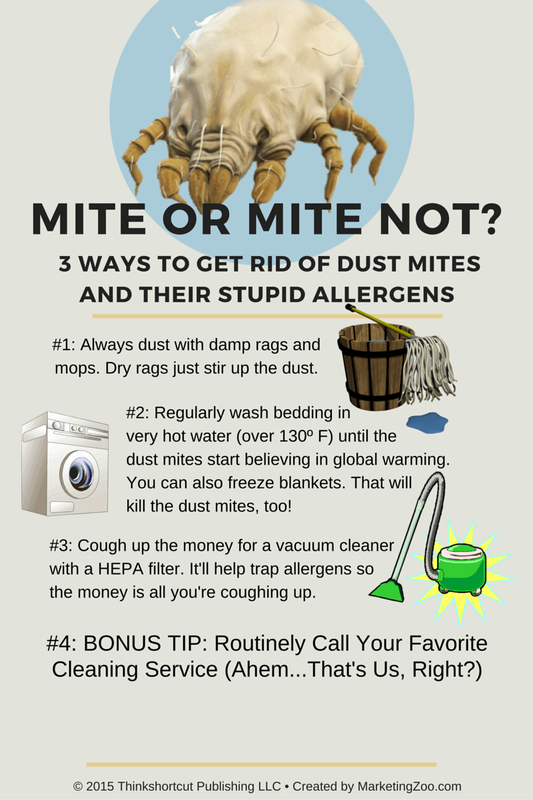Three Ways To Keep Dust Mites In Line