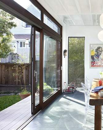 Patio doors how the right exterior door can make all the for 12 foot sliding glass door