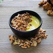 Plant-based cashew yogurt