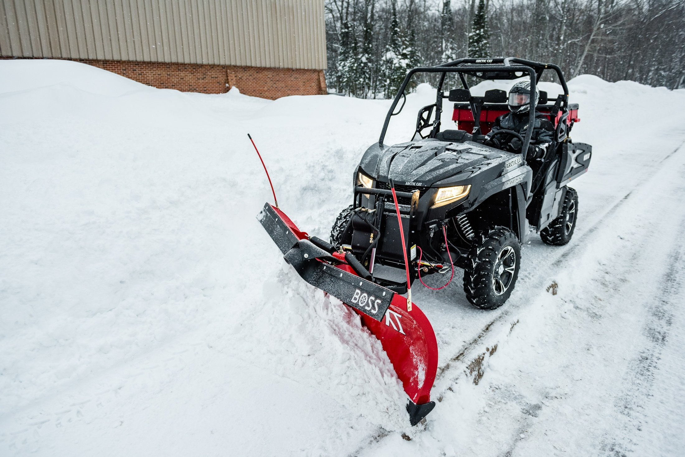 how to solve your sidewalk snow removal problems with an