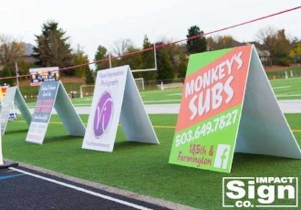 Westview Field Sponsor Signs