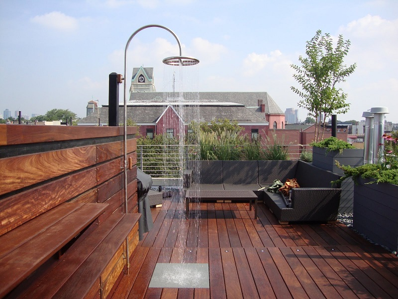 Rooftop Decking Gallery
