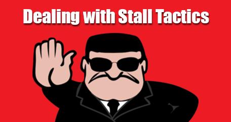 stall tactics