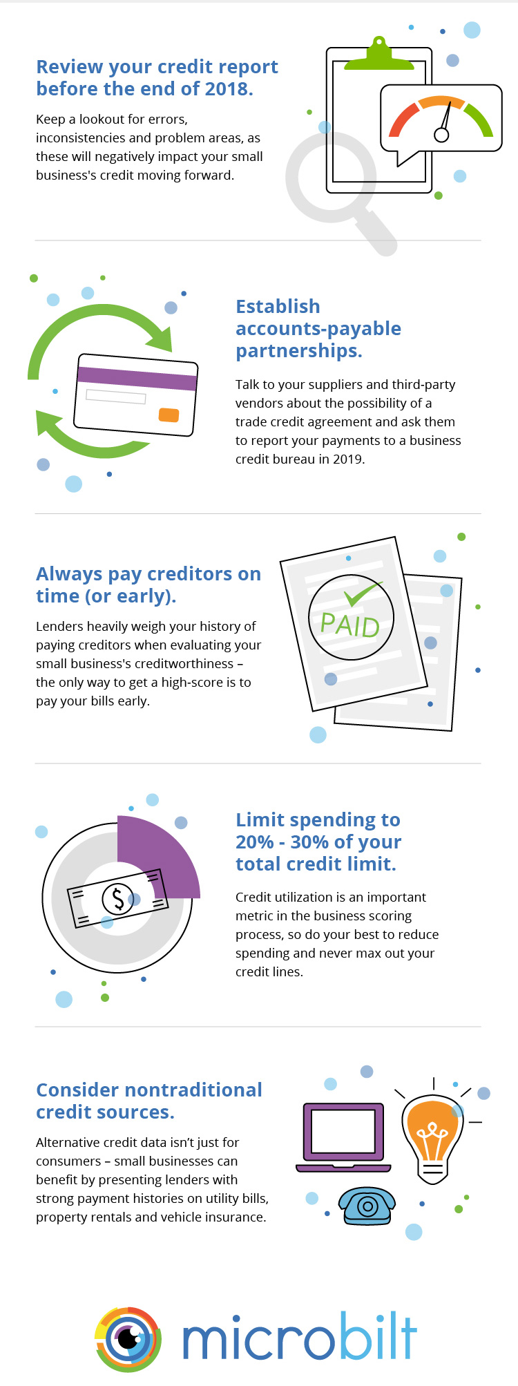 Infographic: Tips to Secure Better Business Credit in 2019