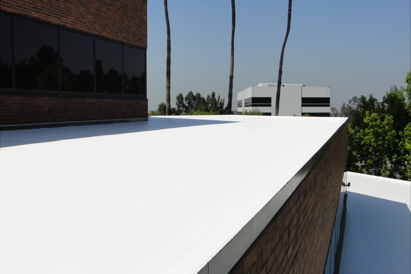 Seamless Roof Systems Commercial Roof Coatings Flat