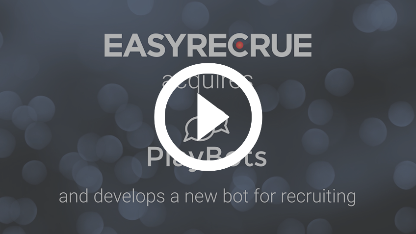 EASYRECRUE chatbot video presentation