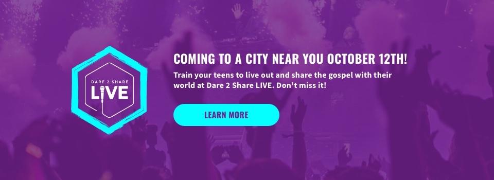 Dare 2 Share - Evangelism Training, Outreach Activities