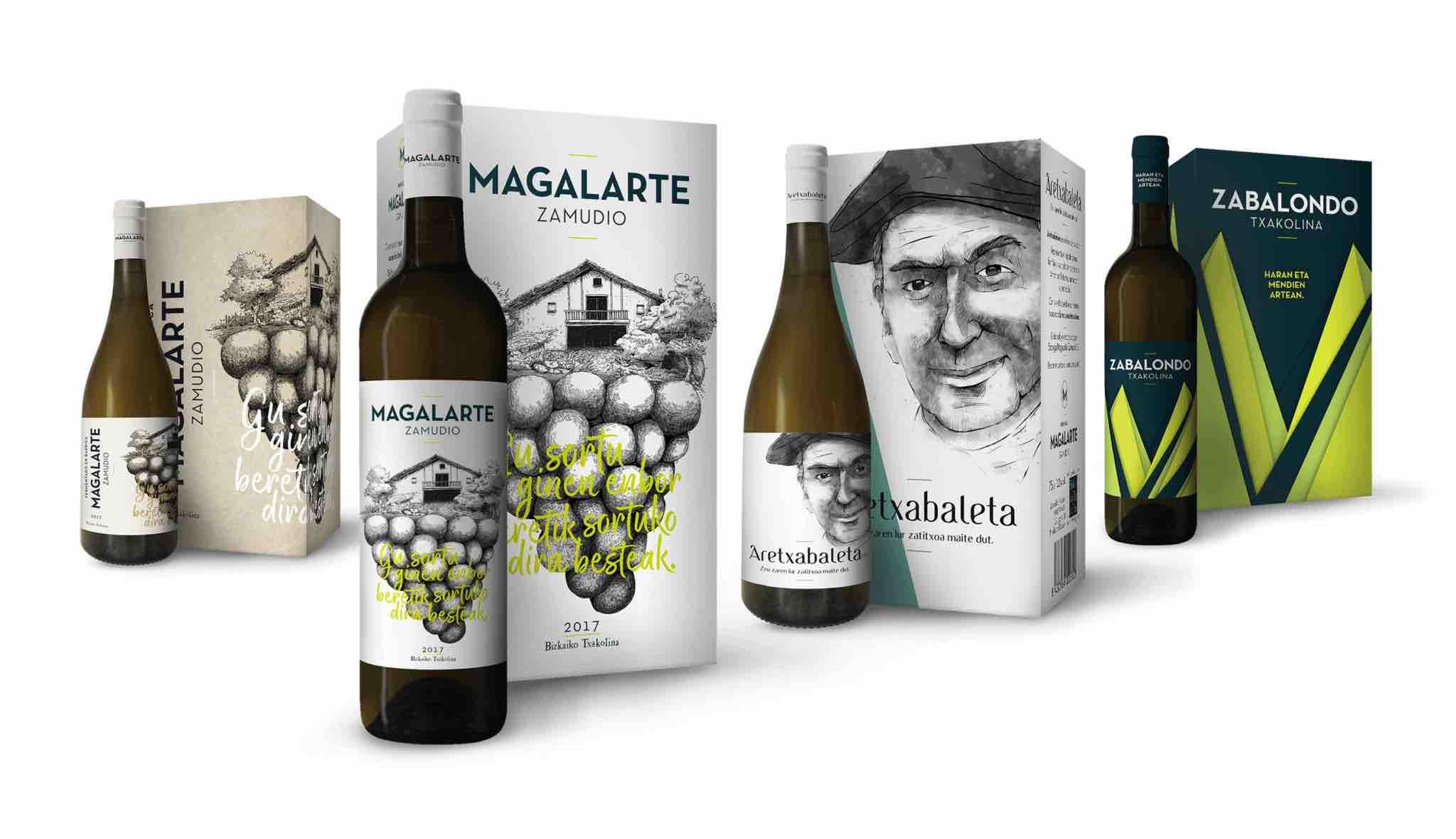 Packaging para Bodegas Magalarte