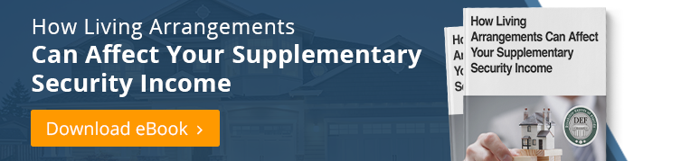 How Can Living Arrangements Affect My SSI Payments?