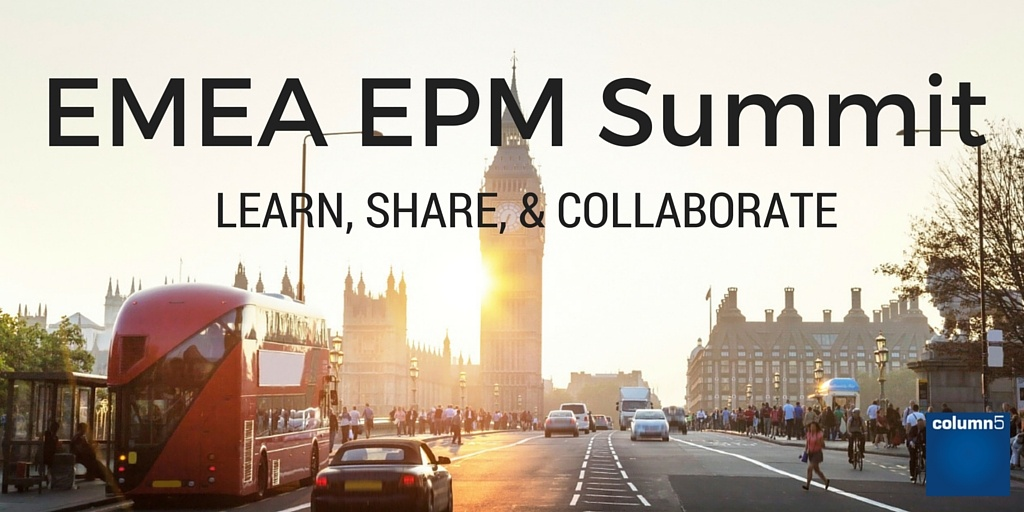 EPM Summit – Learn, Share, and Collaborate