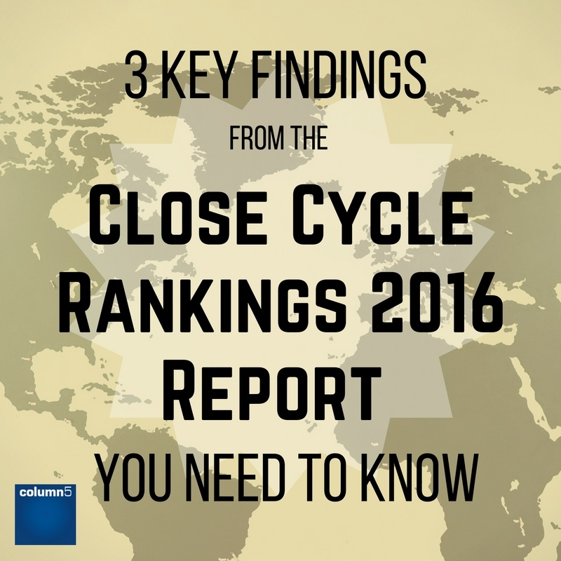 3 Key Findings from the Close Cycle Rankings 2016 You Need to Know