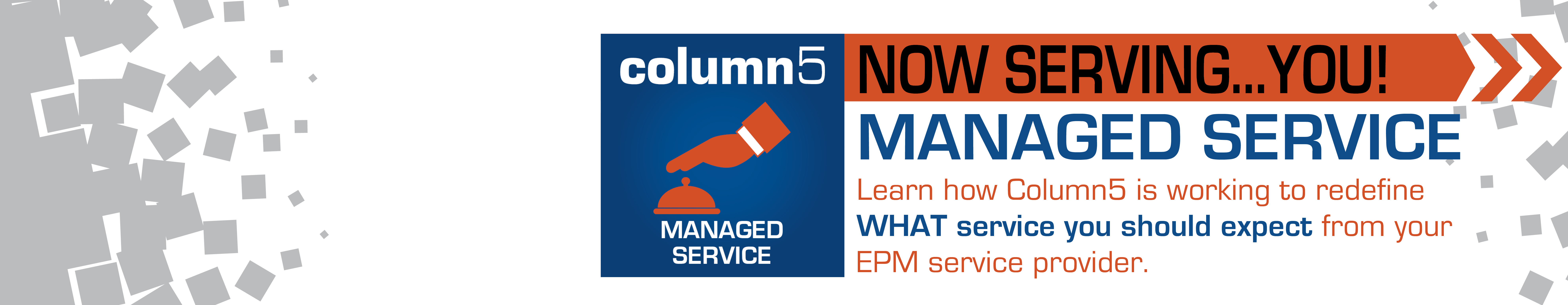 Just Announced! Column5 Managed Service!