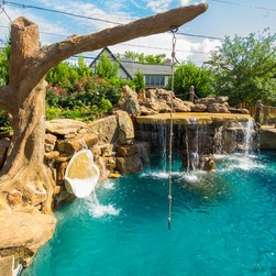 Swimming Pool Rope Swings An Alternative To Diving