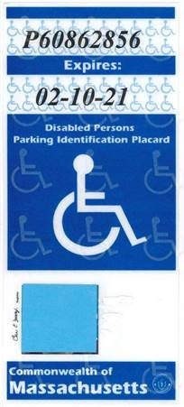 Disabled Parking Placard Changes