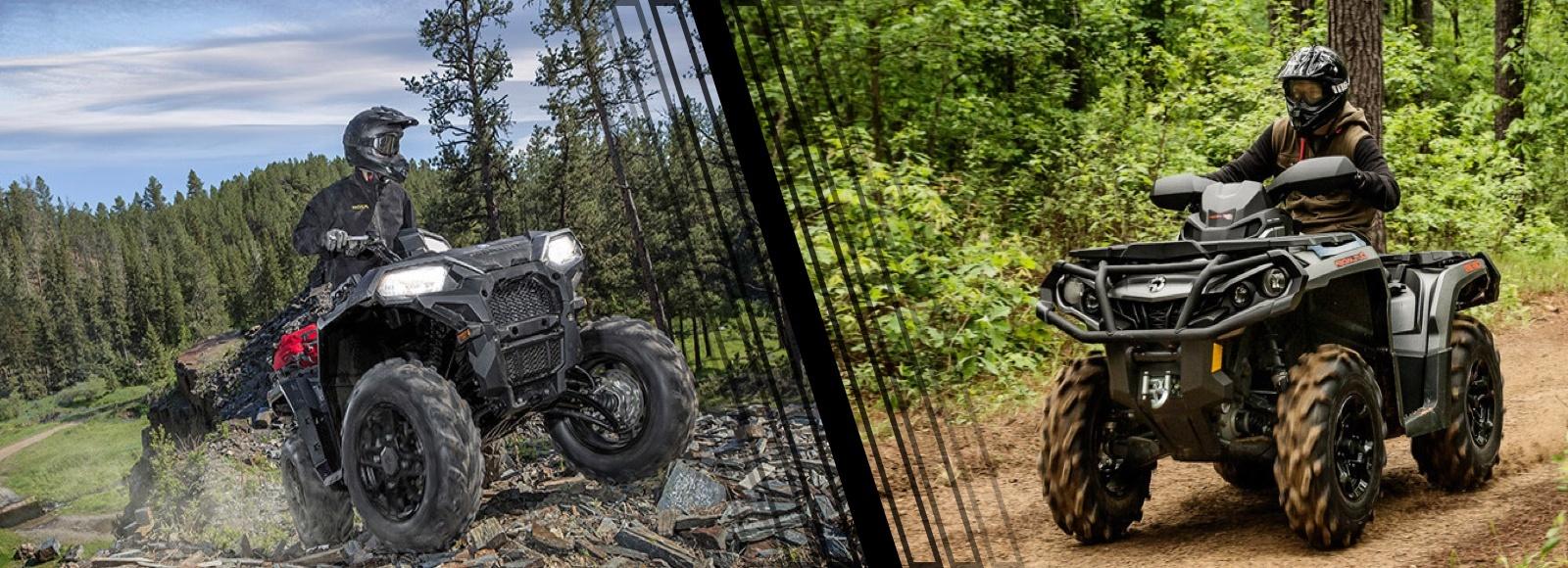 ATV Review : Polaris Sportsman 850 vs CanAm Outlander DPS 850