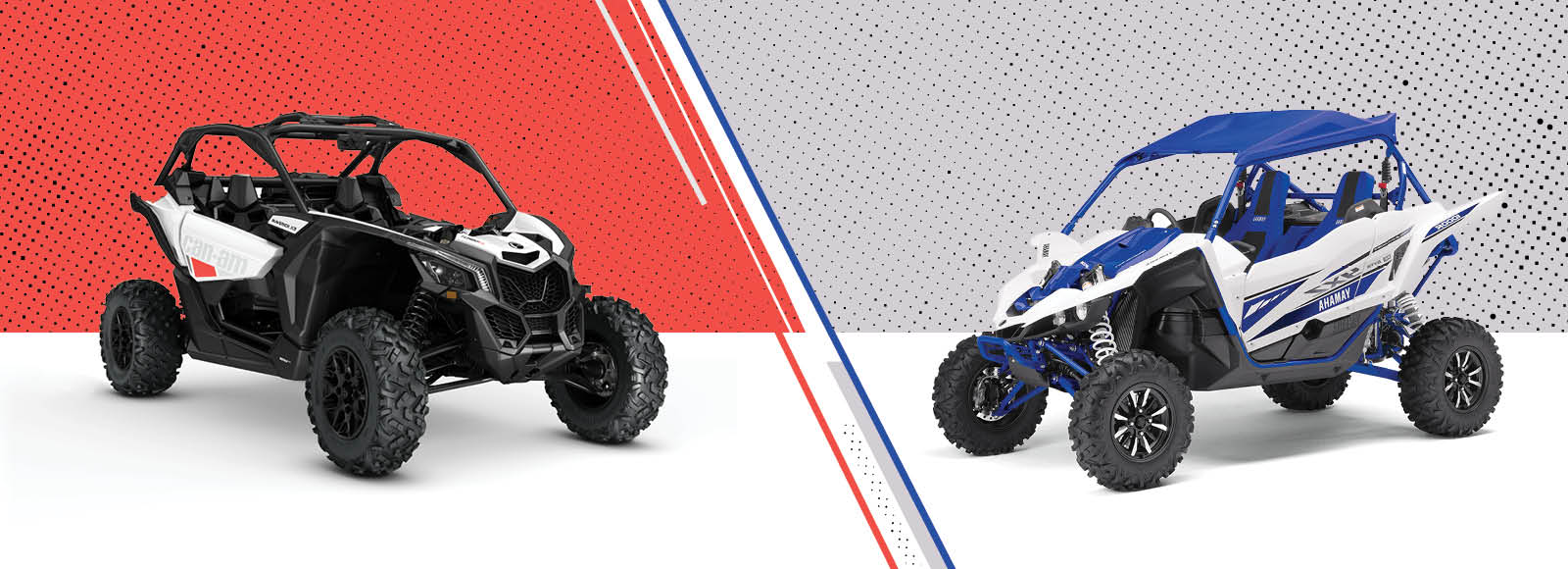 Side by Side UTV Review : CanAm Maverick X3 vs Yamaha YXZ1000R
