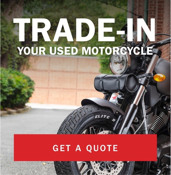 Trade-in your used motorcycle - Get a quote
