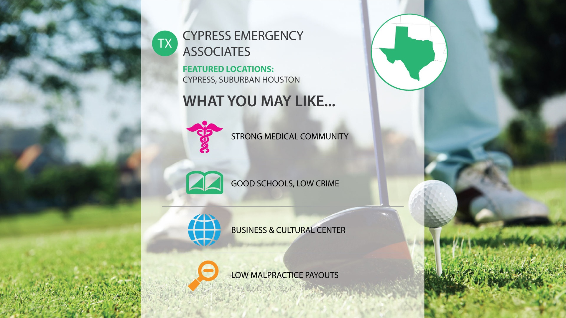 Cypress Emergency Associates emergency medicine job in texas