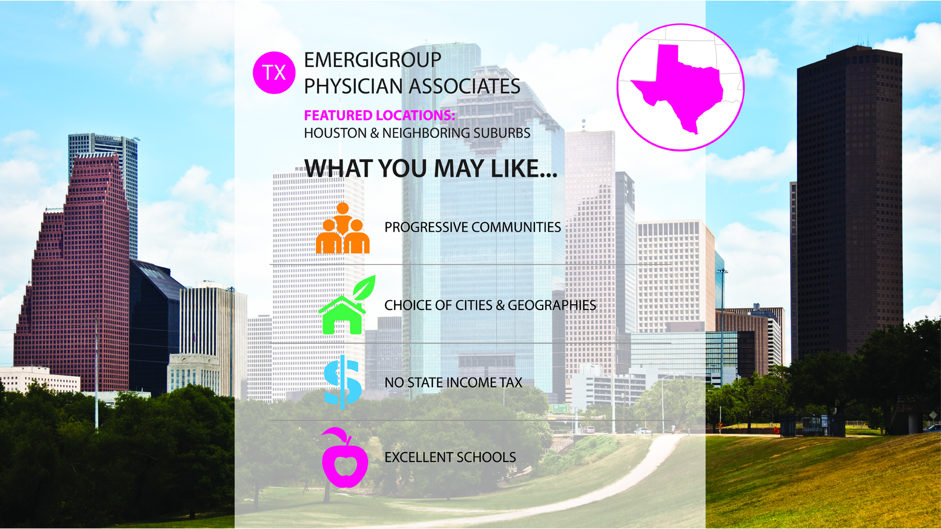 Emergigroup Physician Associates job in houston