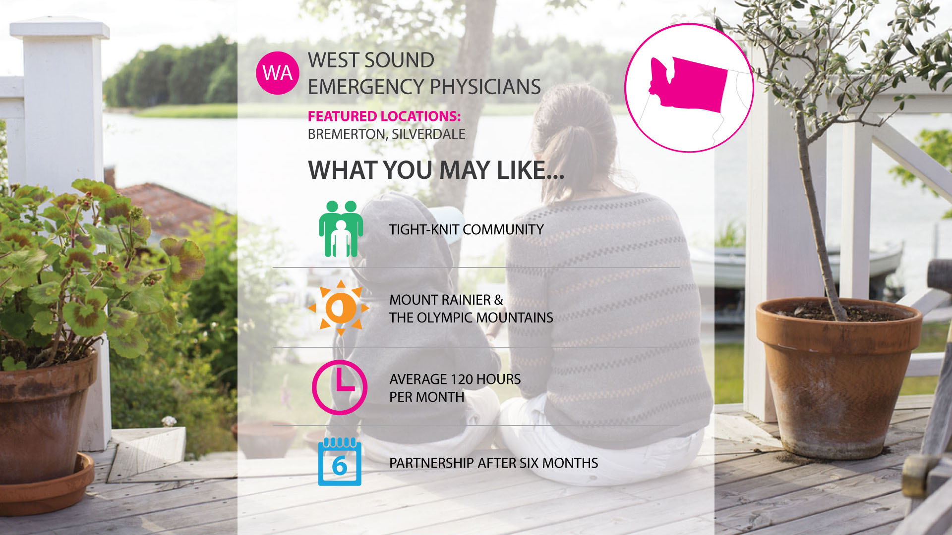 West Sound Emergency Physicians job in seattle washington area
