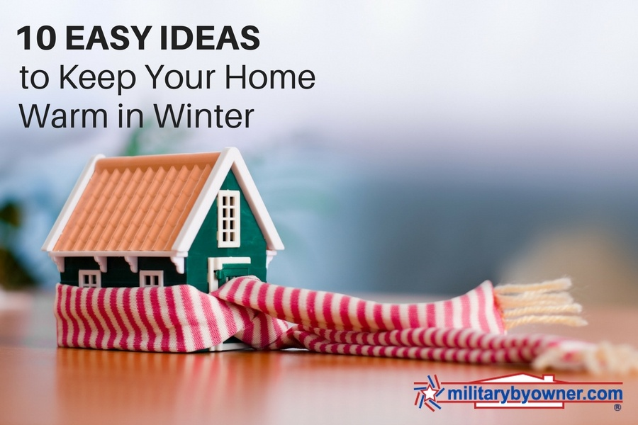 10 Easy Low Cost Ideas To Keep Your Home Warm This Winter