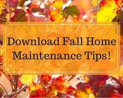 Fall Home Maintenance Tips tackle this easy fall home maintenance checklist over a couple of