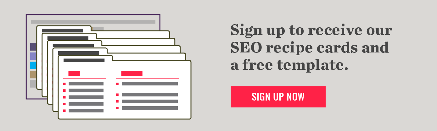 Recipe for an SEO Audit: Your Ingredients for Organic Traffic Success
