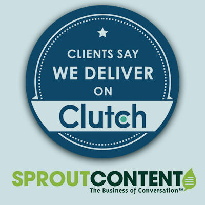 SPROUT Content Named a Top Content Marketing Agency
