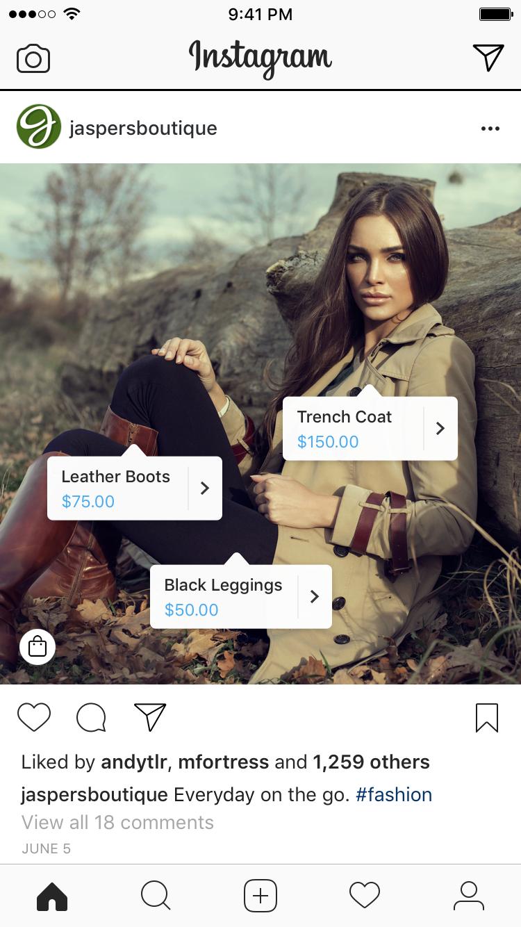 Instagram Shoppable Updates
