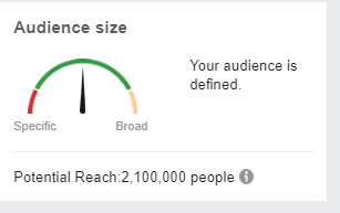 audience size1