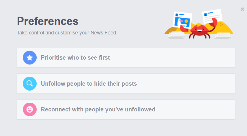Control your News Feed