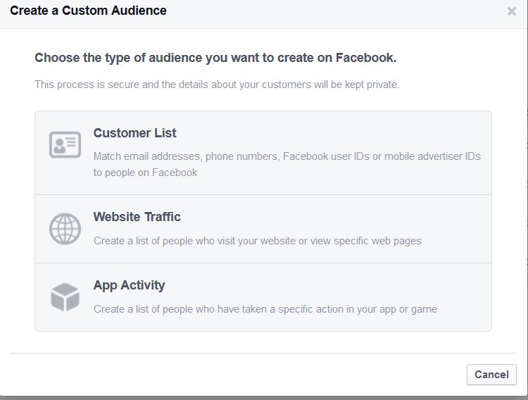 Create a Custom Audience