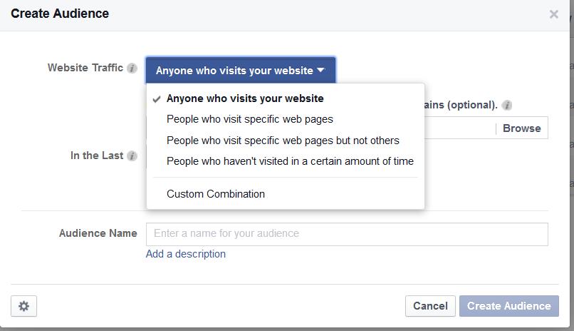 Create a Website Custom Audience
